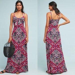 Anthro Moulinette Soeurs Brisbane Maxi Dress